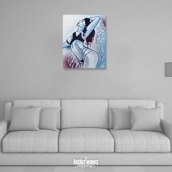 Angel of Sin / 50x40cm canvas / € 400,-