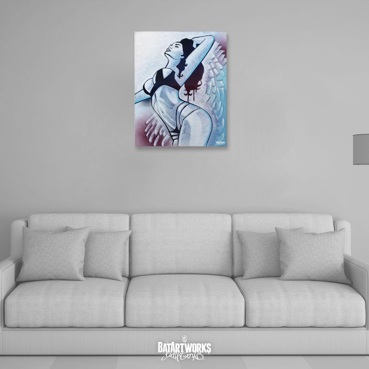 Angel of Sin / 50x40cm / € 400,-