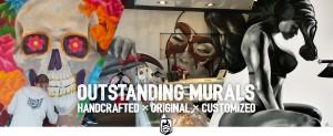 Homepage banner murals