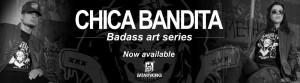 Chica Bandita banner BatArtworks
