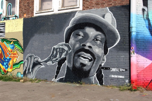 Snoop Dogg Cannibale Royale x BatArtworks