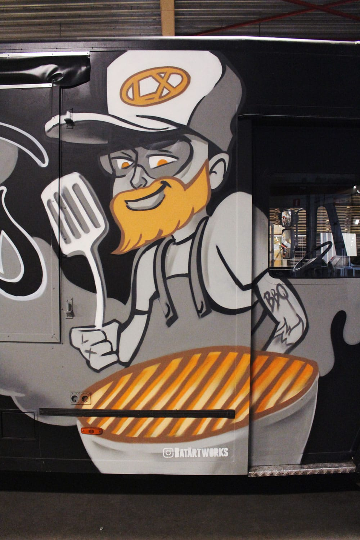 Foodtruck design street foodLumineux