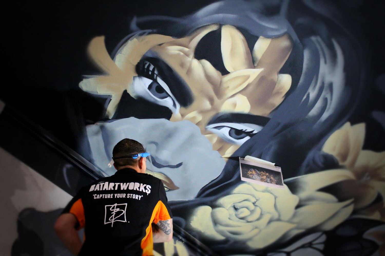 Graffiti portfolio escape Amsterdam