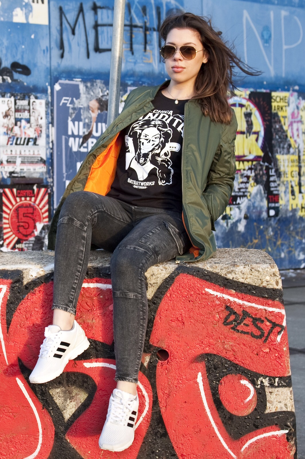 Street wear Chica Bandita shirt Amsterdam