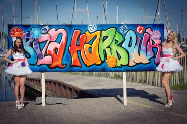 Ibiza Harbour festival BatArtworks