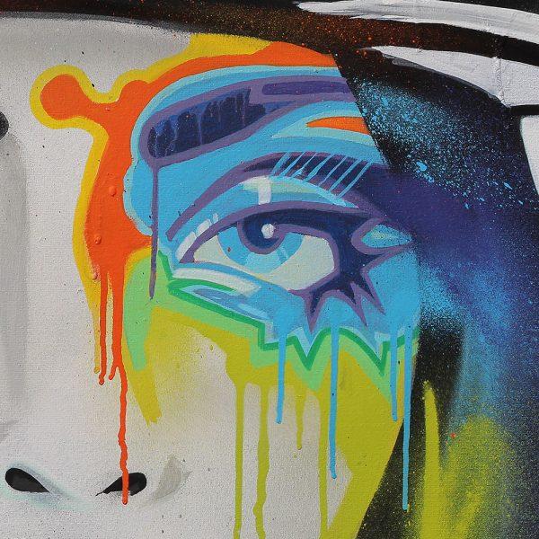Art print Mokums Badass 50x70cm BatArtworks
