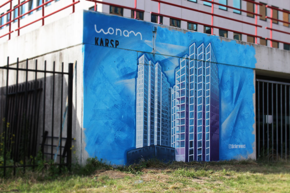 artist impression streetart Wonam