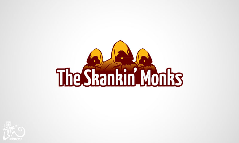 Logo design Skankin Monks
