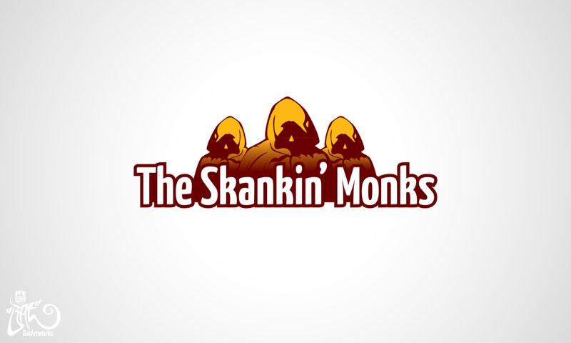 Logo design Skankin Monks