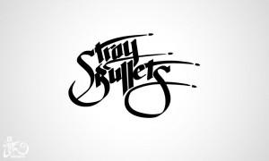 Logo design Stray Bullets