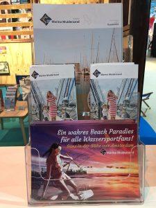 Boat Dusseldorp Marina Muiderstrand corporate design