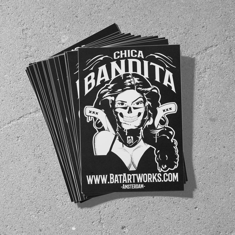 Chica Bandita stickers A6