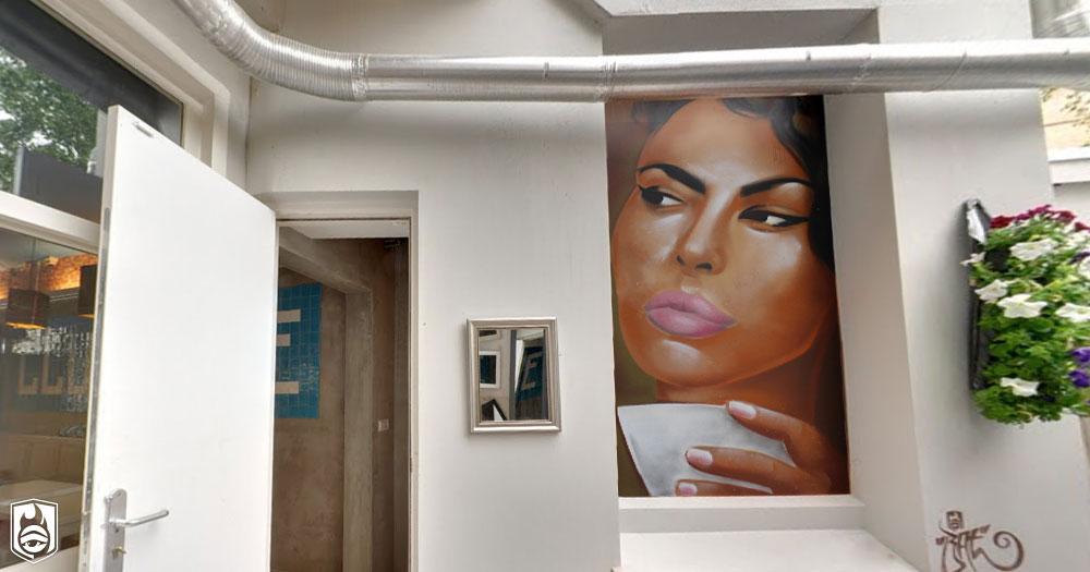 street art clubkoffie amsterdam batartworks