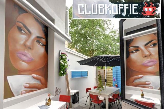 clubkoffie Amsterdam street art batartworks