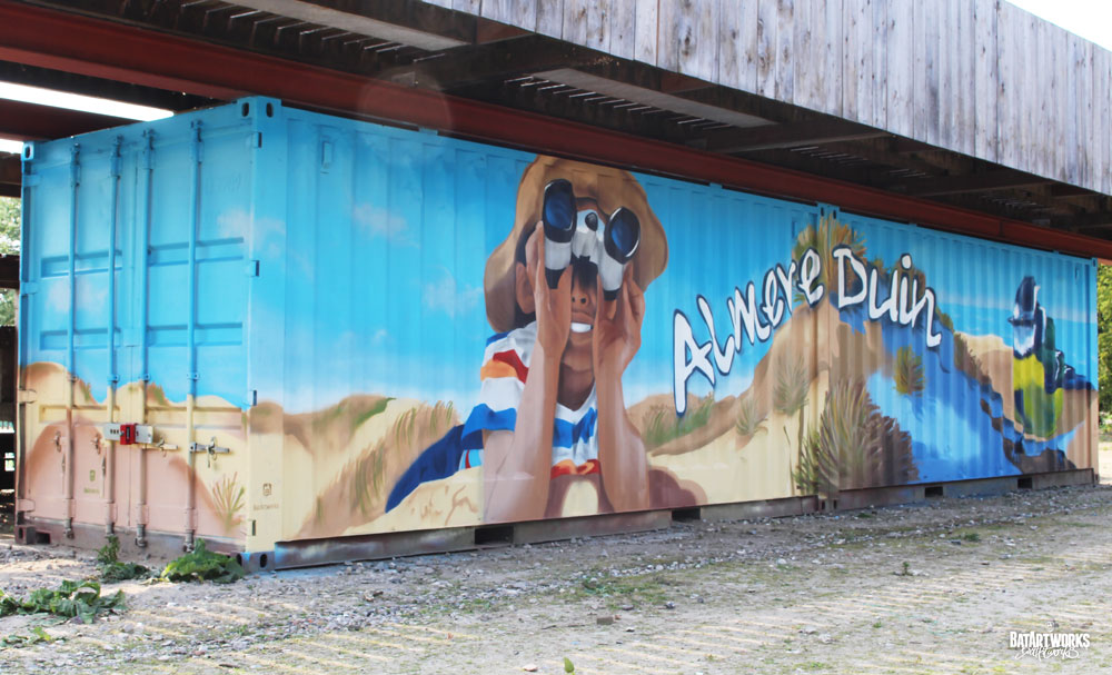 Container art Almere duin