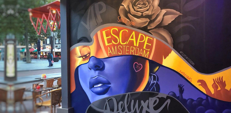 Escape Amsterdam mural
