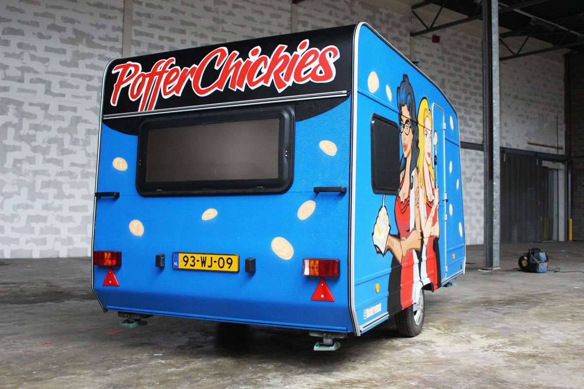 Foodtruck poffertjes PofferChickies