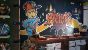 graffiti kindercadeau winkel Mieters
