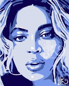 Hip Hop Art Beyonce BatArtworks