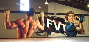 Street Art gym inspiratie BatArtworks