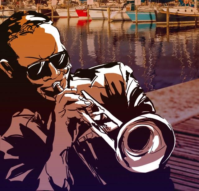 Illustration for Jazz Marina event