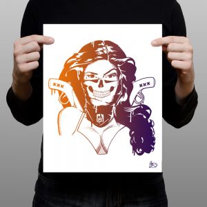 Limited edition prints Chica Bandita BatArtworks