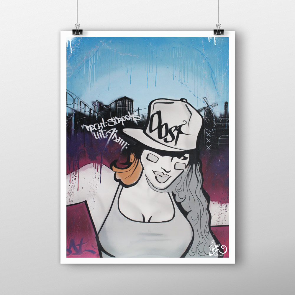 Limited Edition prints - Eastside Mokum