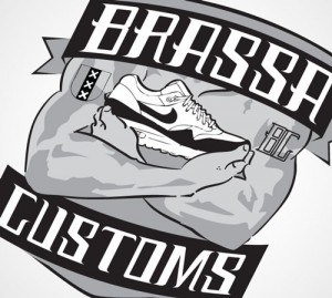 Logodesign Brassa Customs BatArtworks