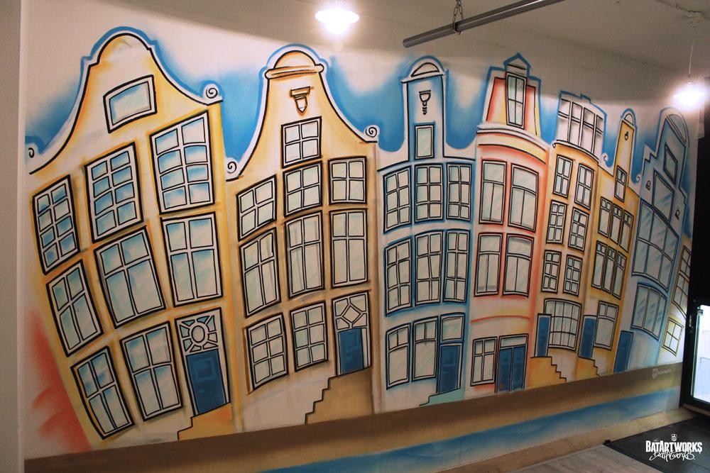 mural park plaza hotel Amsterdam