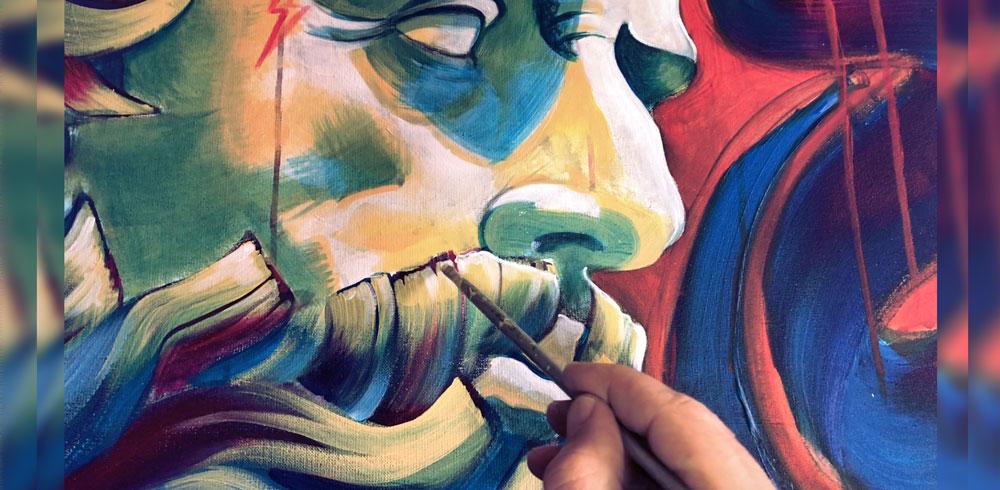 zeus painting batartworks
