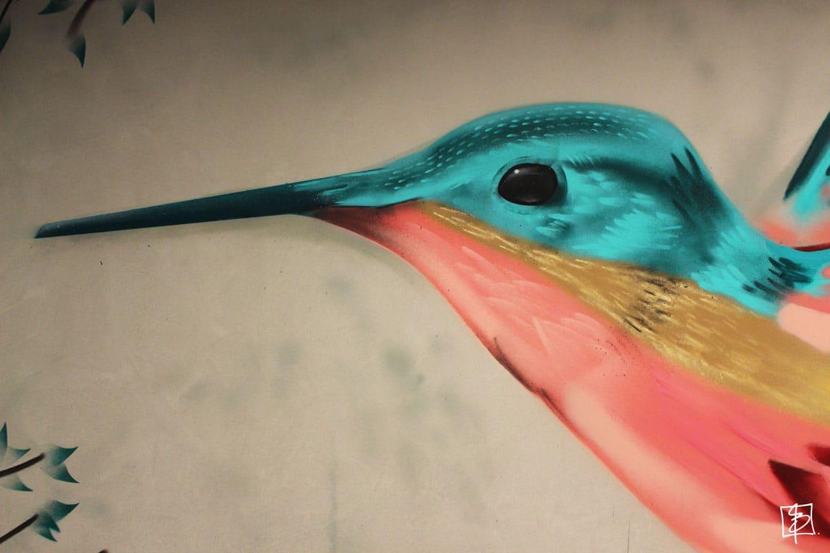 Park Plaza Vondelpark kolibri BatArtworks