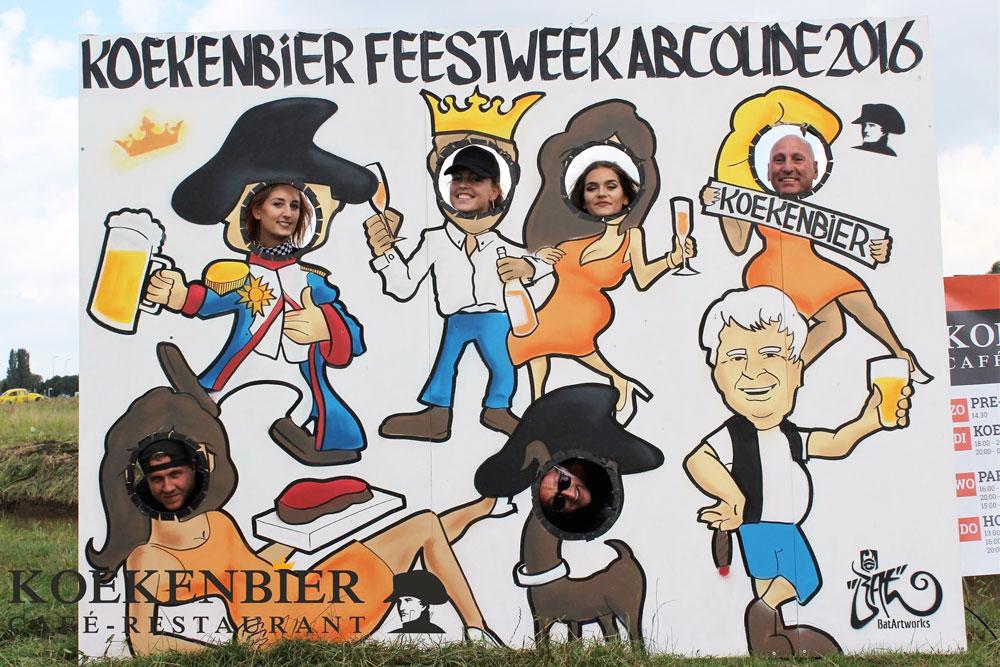 Photo stand in Koekenbier Abcouder autocross batartworks