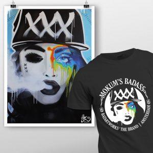 prints shirt mokum badass batartworks-pack