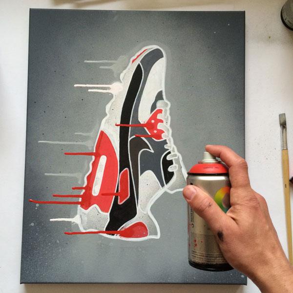 Sneaker Art Nike Airmax