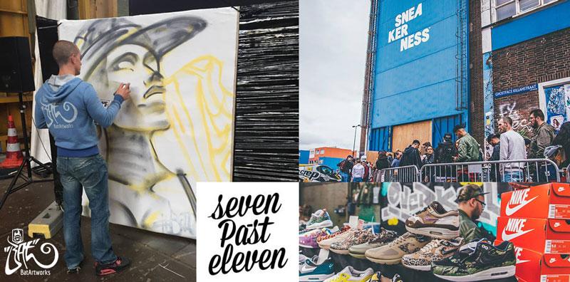 Sneakerness Amsterdam live painting BatArtworks