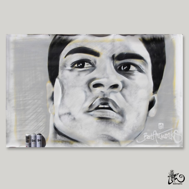 Mohammed Ali / 190x220cm / Price on request