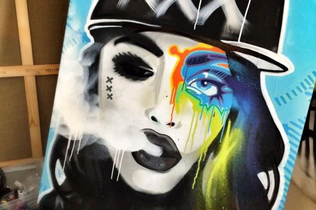 Urban Artwork 'Mokum's Badass'