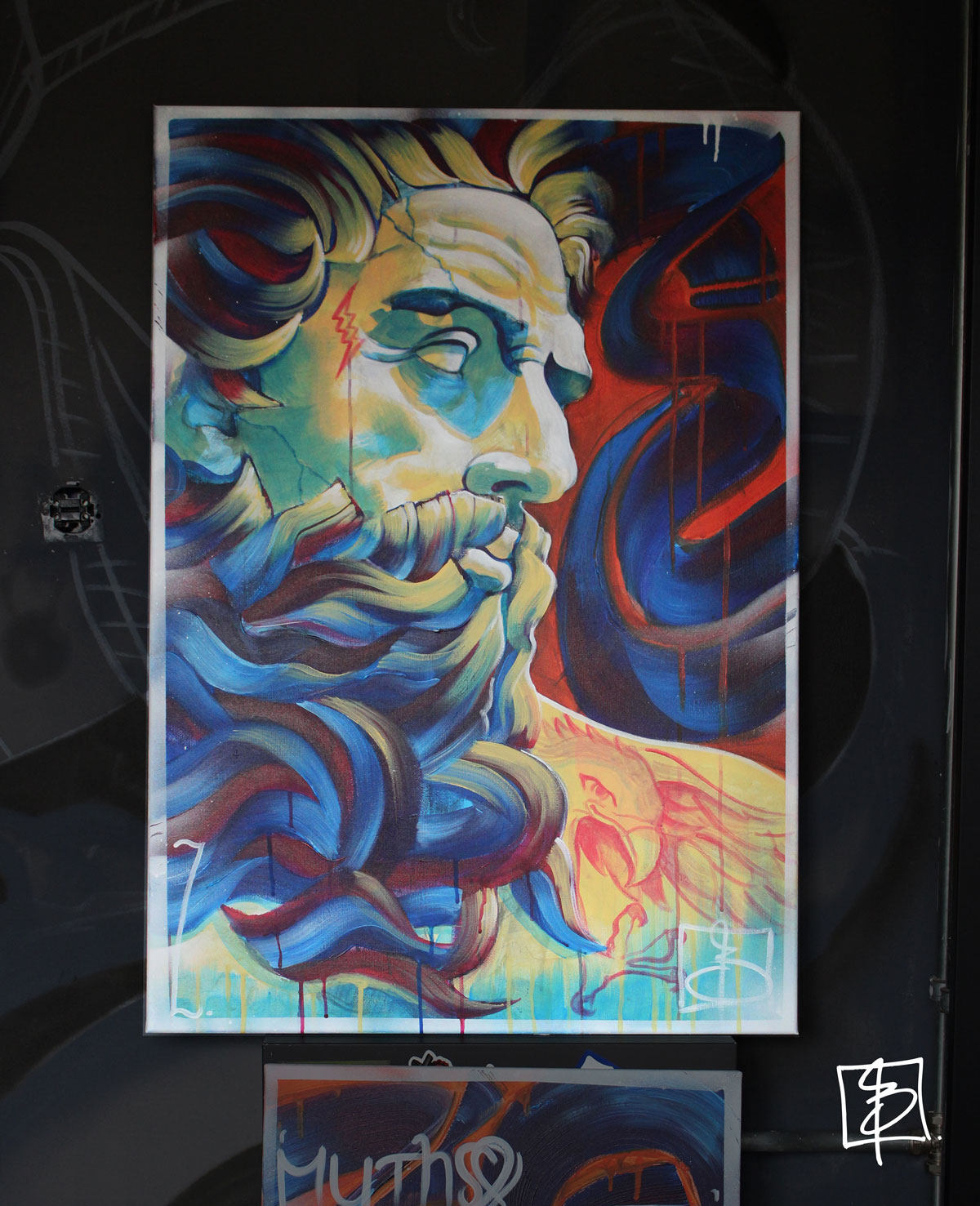 Zeus / 90x70cm canvas / Price on request