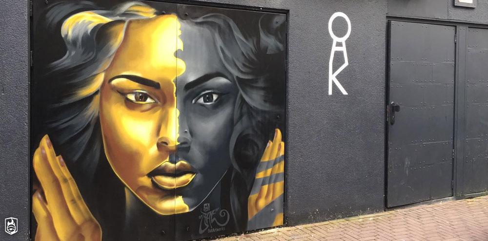 Art murals - Urban mural club oaK Amsterdam BatArtworks